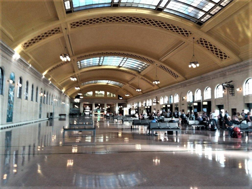 Waiting room, Union Depot St Paul MN